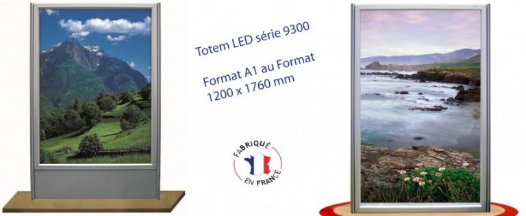 Totem LED Cadre 9300