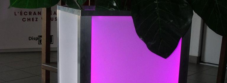 Décoration Cache pot lumineux