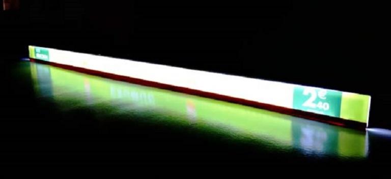La réglette Lumineuse LED