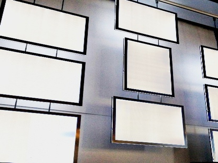 Porte affiche LED Prestige